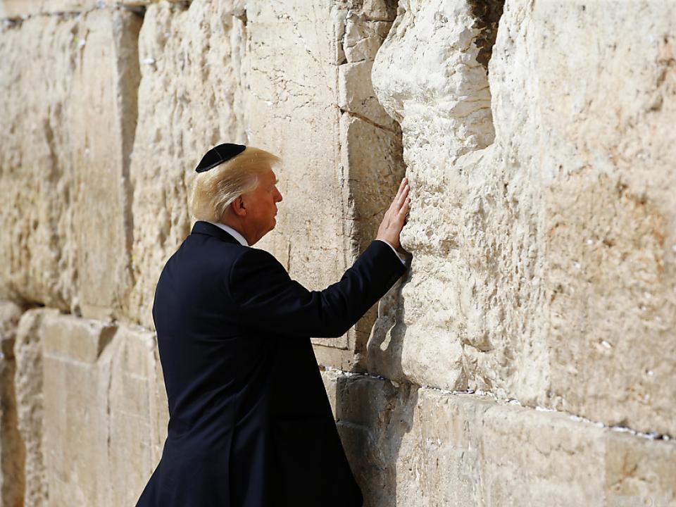 US-Regierung unter Trump erkennt Jerusalem als Hauptstadt Israels an