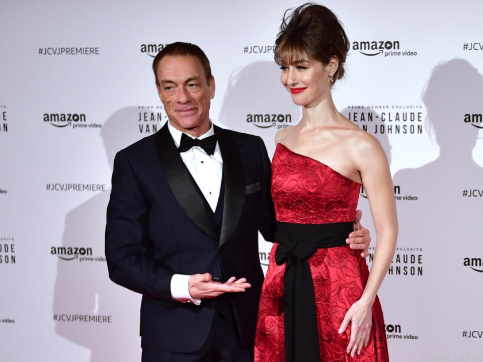 Van Damme bei der Serienpremiere in Paris