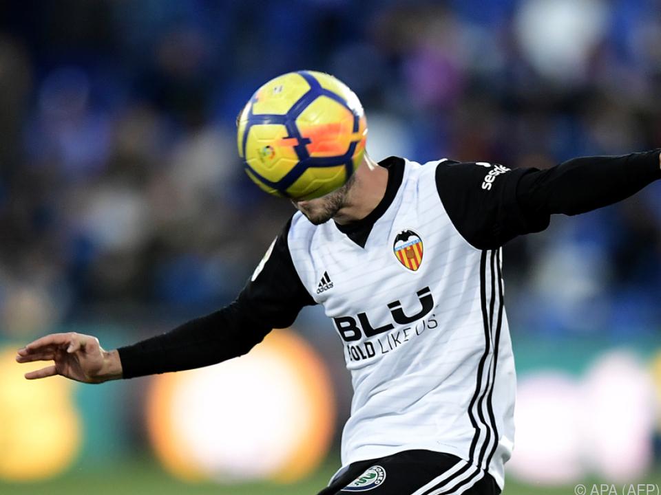 Verteidiger Gaya Pena als Symbolbild für Valencias Auftritt