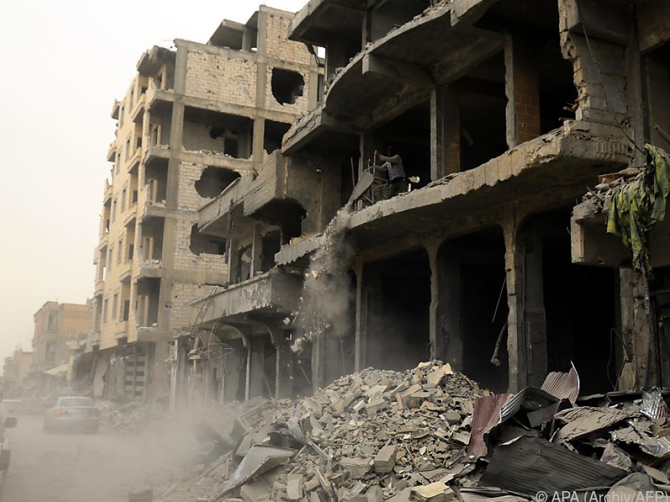 Viel Jihadisten könnten aus Raqqa fliehen