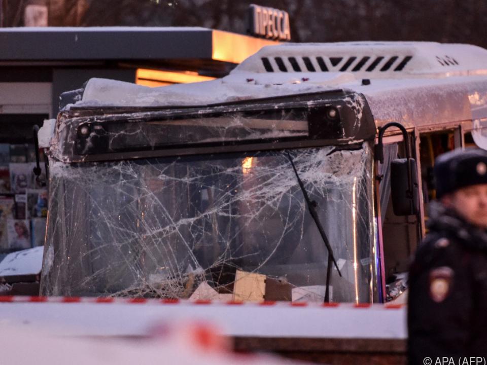 Vier Menschen wurden bei dem Unfall getötet