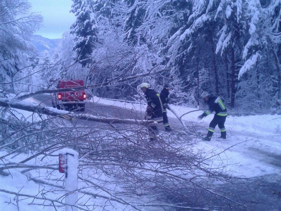 Schnee Feuerwehr