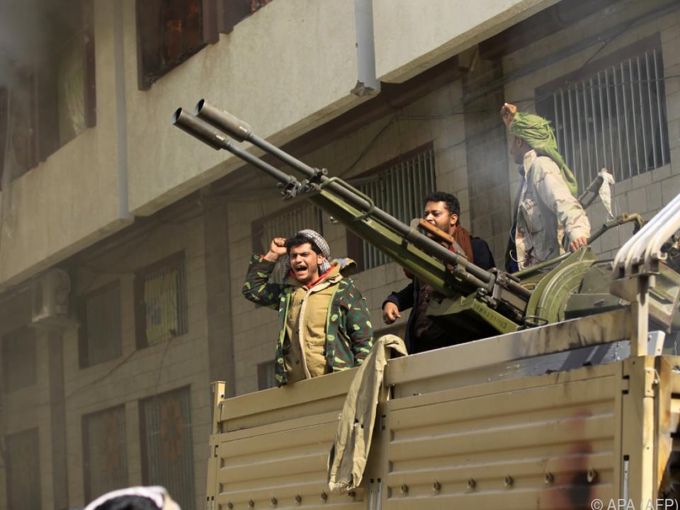 Weiter schwere Gefechte im Jemen
