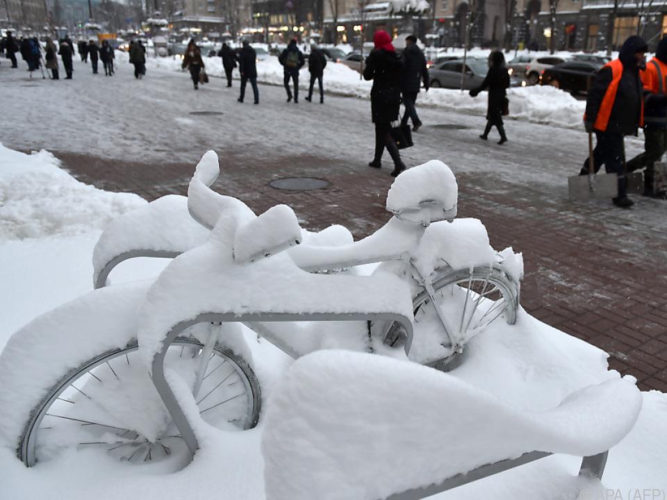 Winter in Kiew - Jüngste Waffenruhe hält offenbar nur bedingt