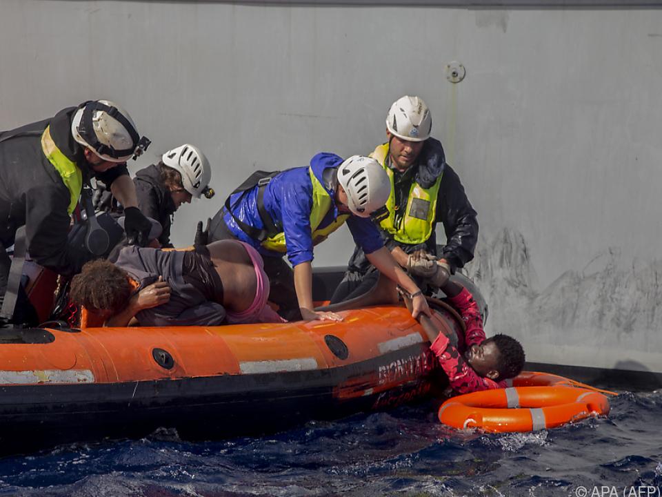 20.000 Menschen wurden aus Seenot gerettet