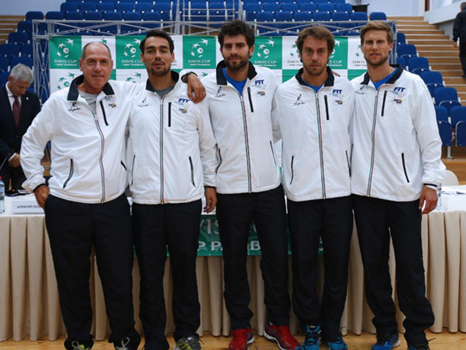 Davis cup 2015 RUS-ITA. darw.