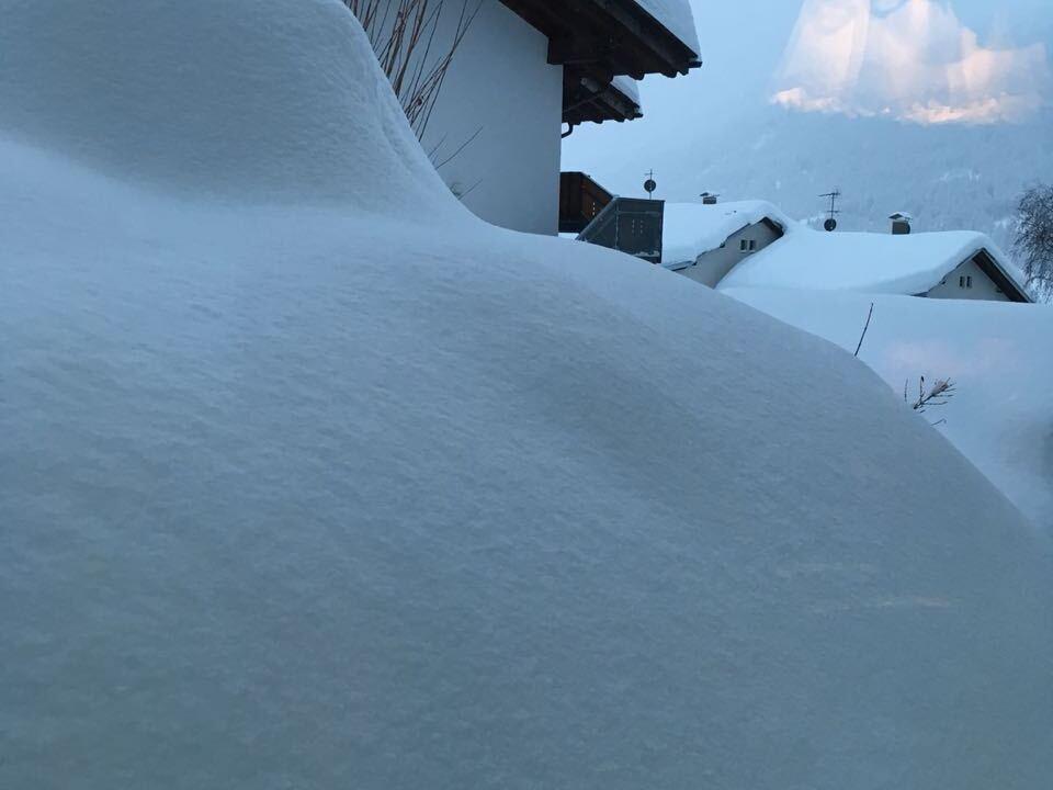 Reschen Schnee