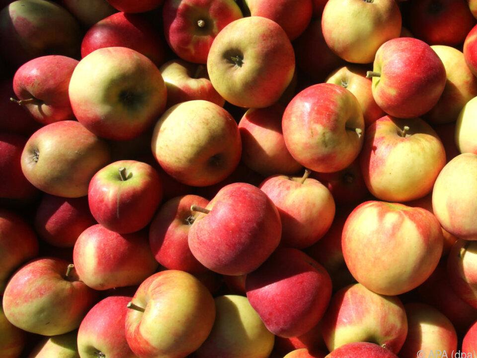 Äpfel wurden um 25 Prozent teurer