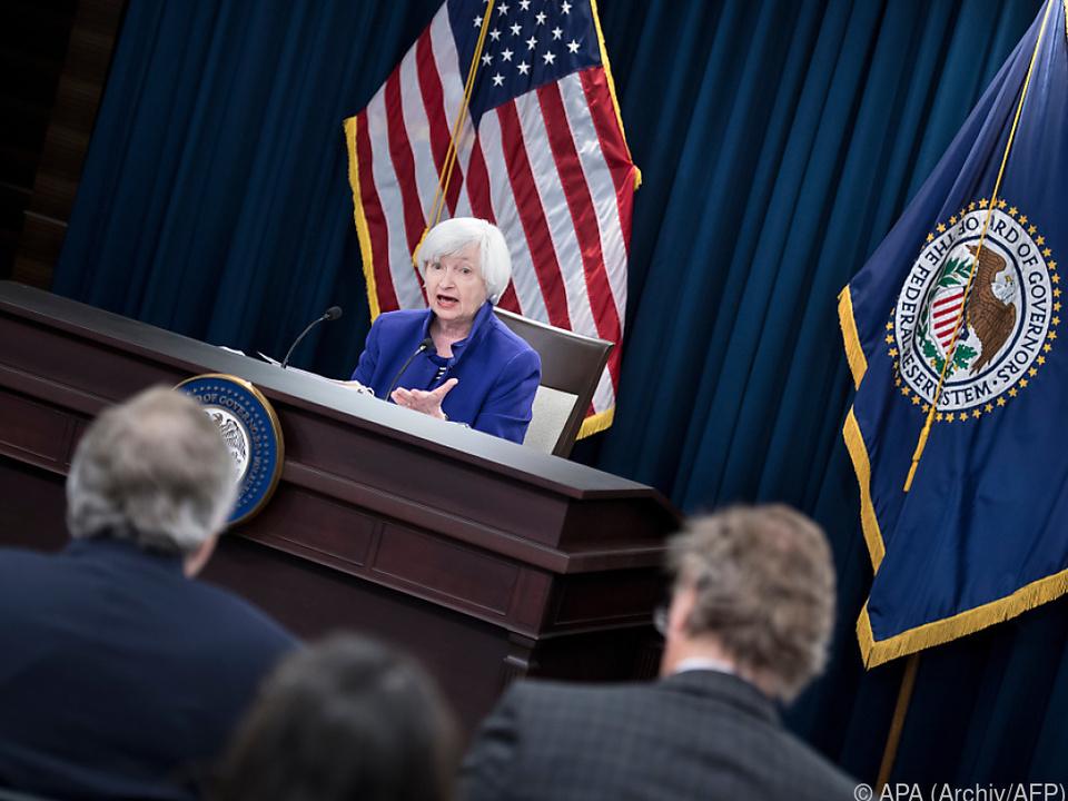 Ära von Fed-Chefin Janet Yellen endet unspektakulär