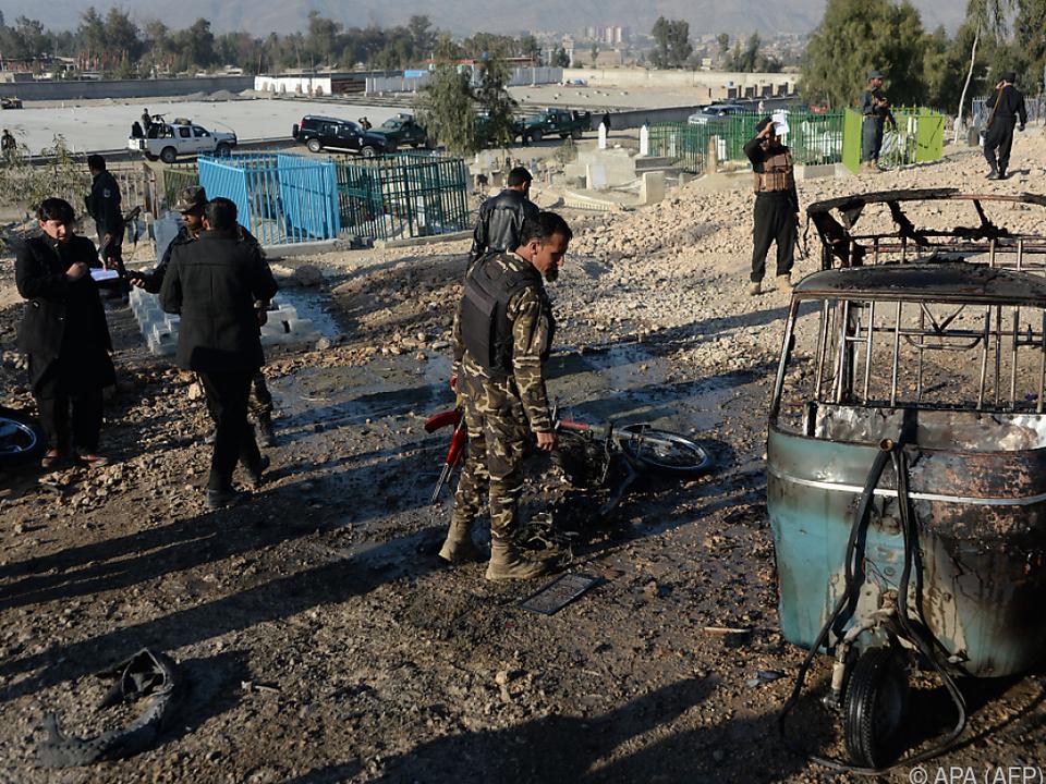 Afghanistan war auch im vergangenen Jahr ein Unruhepol