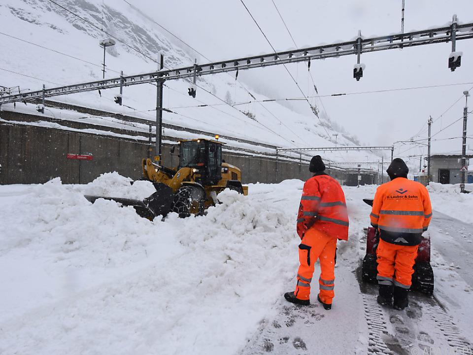 An- und Abreisen sind in Zermatt derzeit nicht möglich