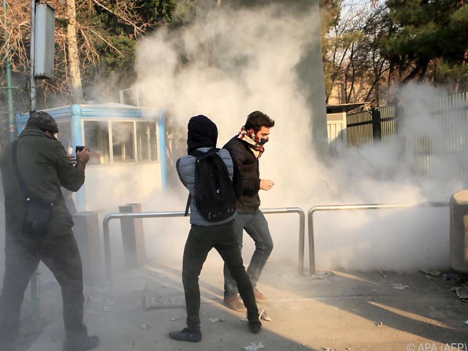 Anhaltende Proteste gegen das Regime