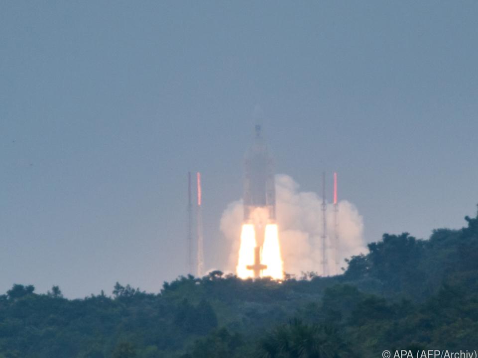 Ariane 5 startete am Donnerstagabend