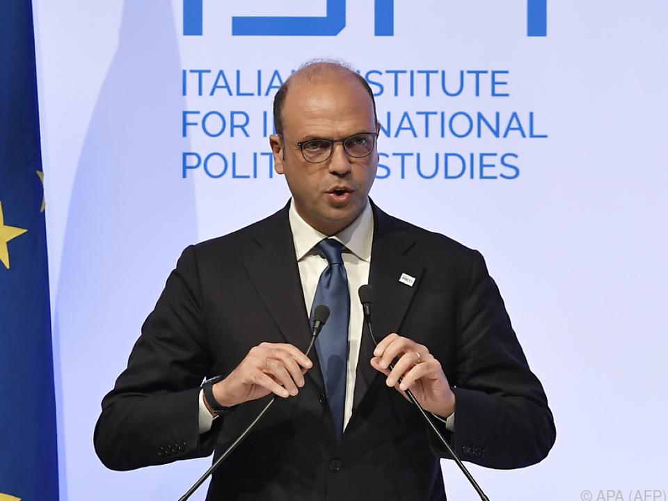 Außenminister Alfano will sich der Ukraine-Krise widmen
