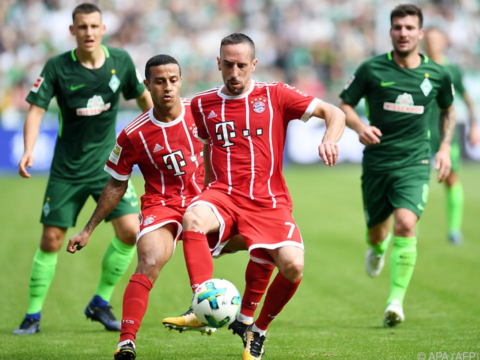 Bayern kann jeden Ausfall kompensieren
