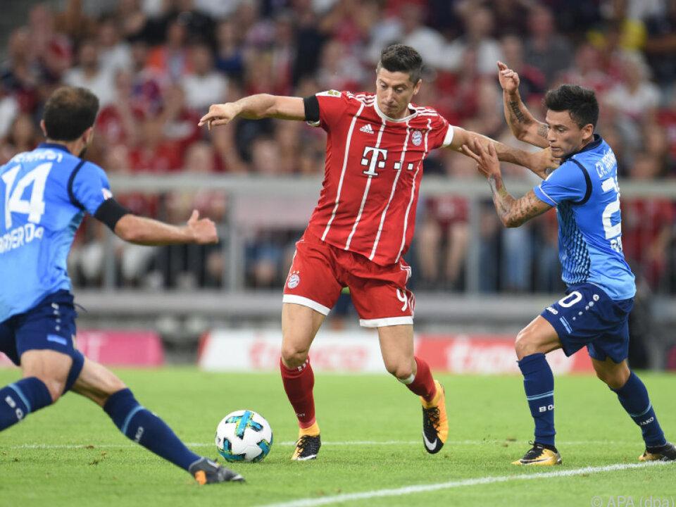 Bayern München trifft zum Auftakt auf Leverkusen