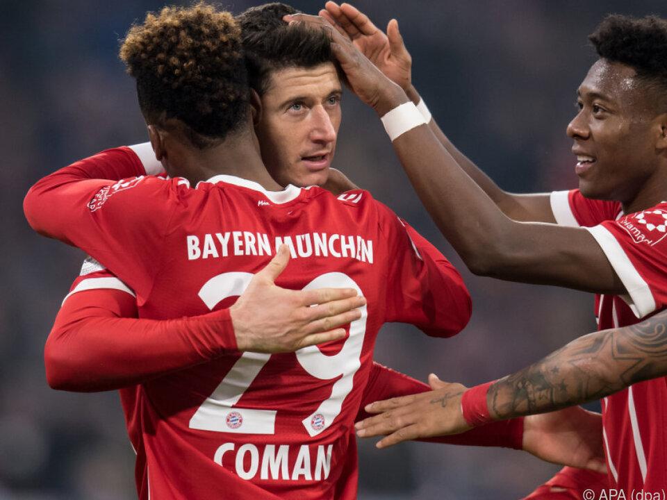 Bayern verwandelte gegen Hoffenheim 0:2-Rückstand in 5:2-Sieg