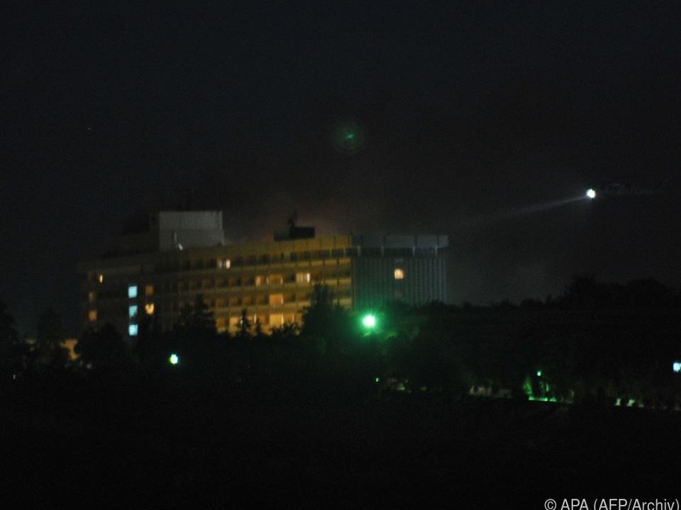 Bereits 2011 gab es einen Angriff auf das Intercontinental