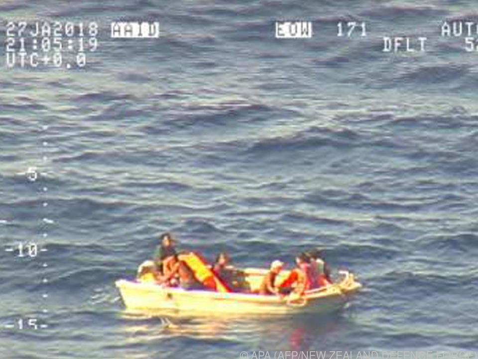 Bild einer Videoaufnahme durch die Luftwaffe