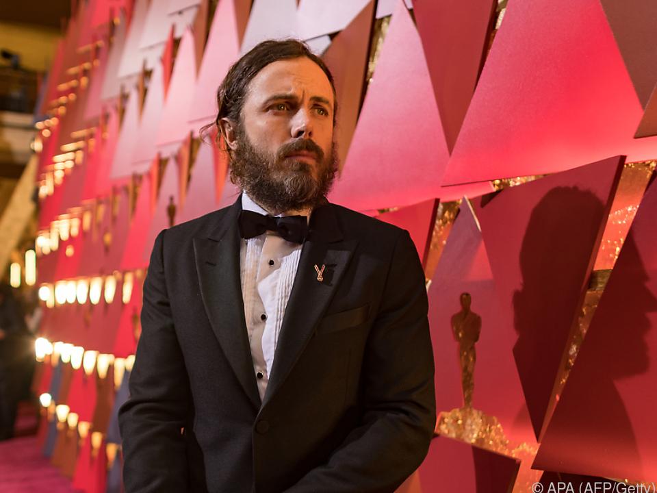 Casey Affleck erhielt im Vorjahr den Oscar als bester Haupdarsteller