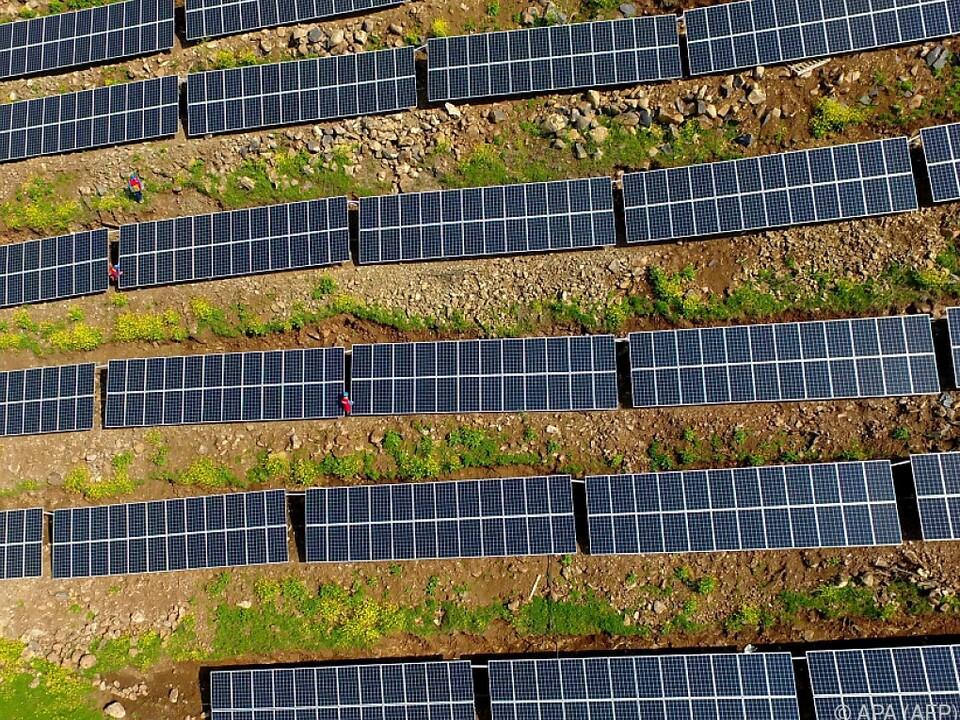 China ist der weltgrößte Hersteller von Solarpaneelen