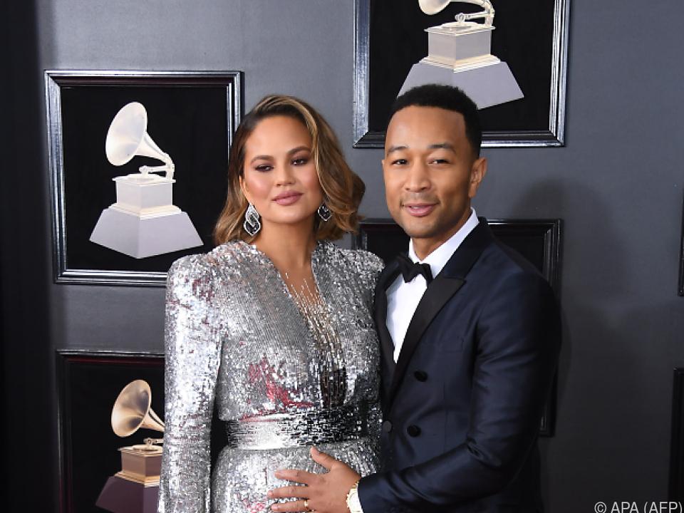 Chrissy Teigen und John Legend erwarten ihr zweites Kind
