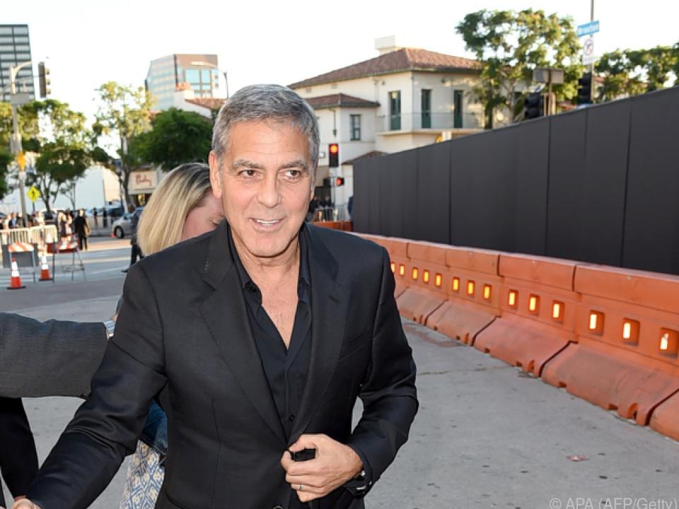 Clooney wagt sich wieder an eine Serienrolle heran