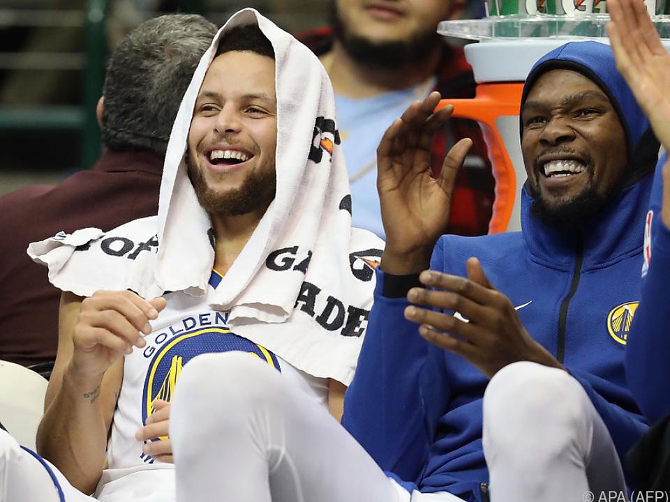 Curry hat die Pause offenbar gut getan