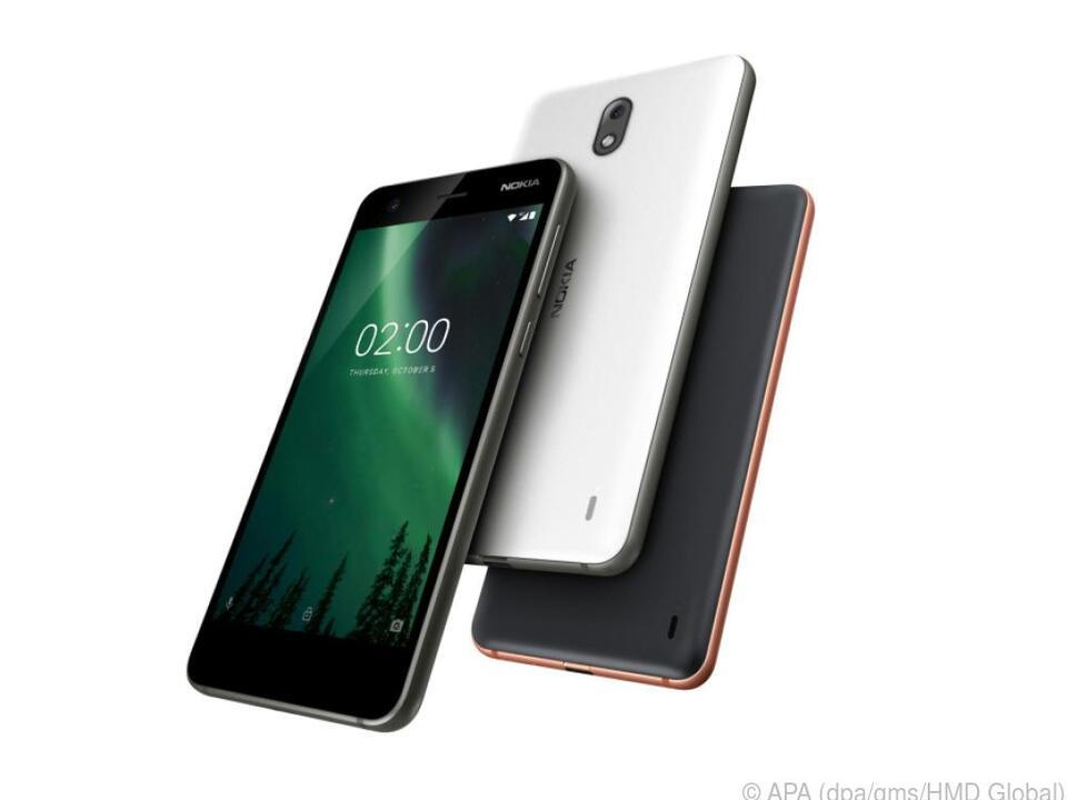 Das Nokia 2 soll zwei Tage Akkulaufzeit liefern und kostet rund 120 Euro