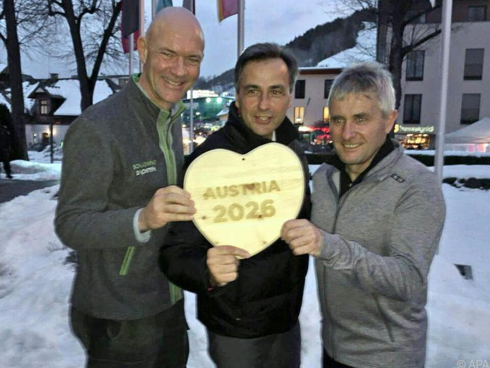 Das steirische Herz soll für Olympia schlagen