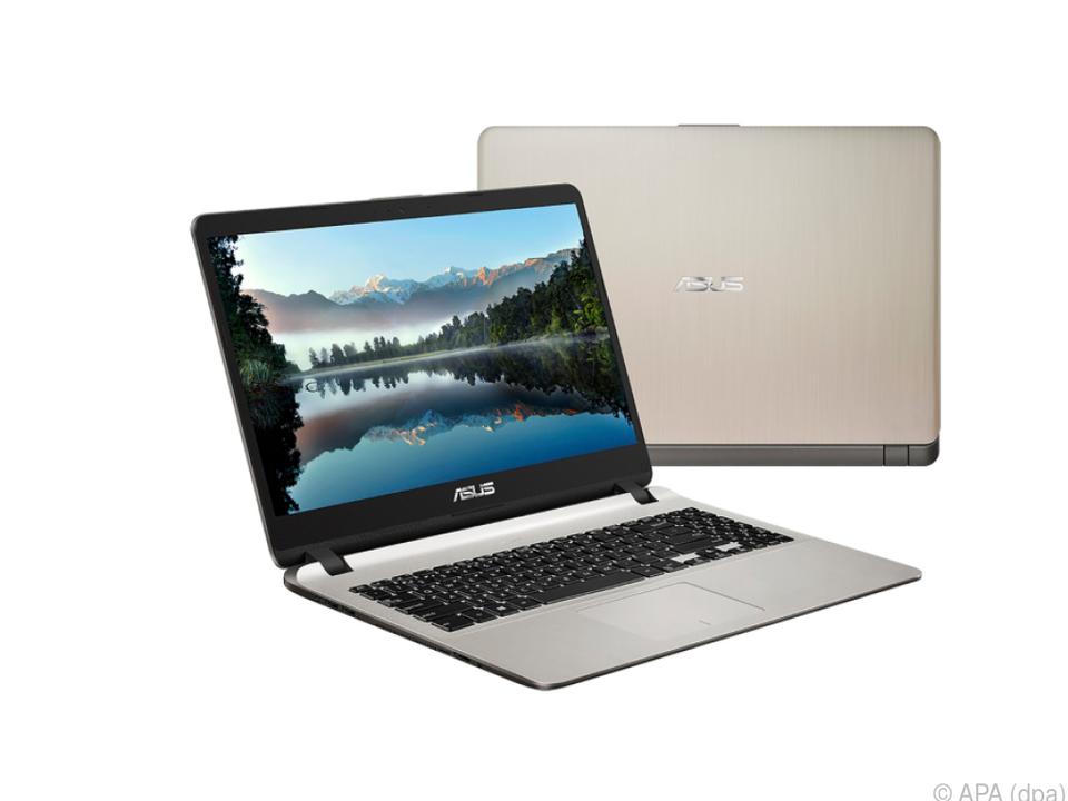Das Notebook X507 von Asus setzt auf ein Display mit schmalem Rahmen
