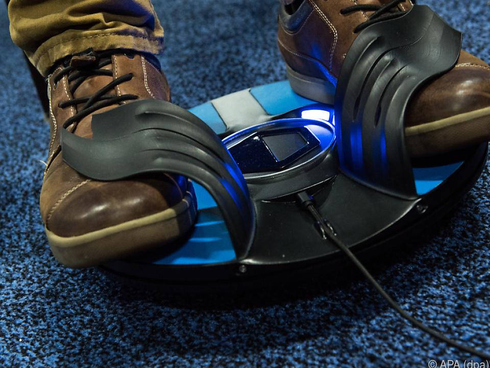Der 3dRudder übersetzt Fußbewegungen in Bewegungskommandos