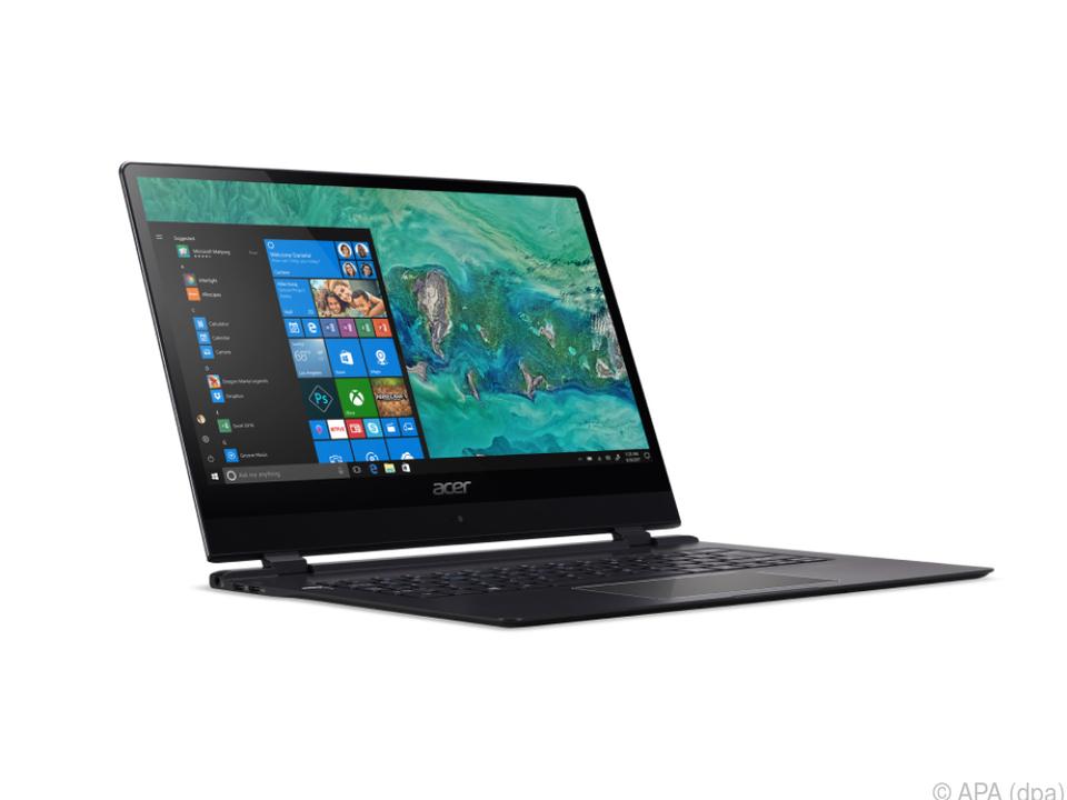 Der Acer Swift 7 ist mit 8,98 Millimetern ultra-dünn