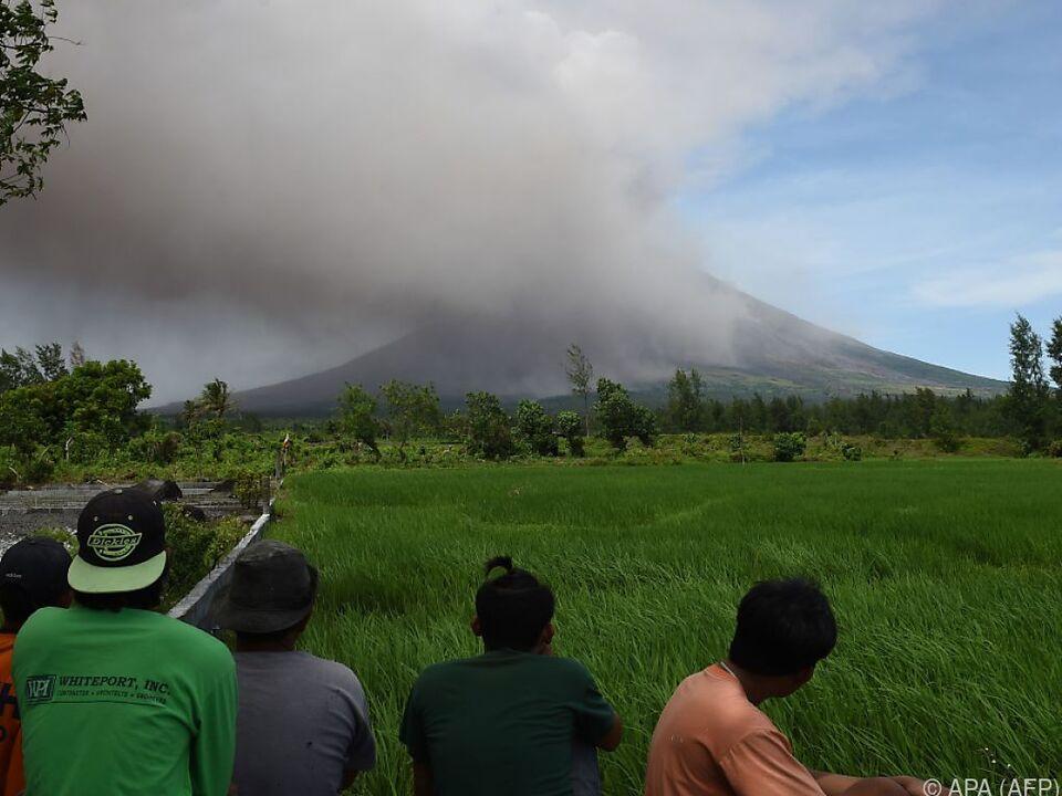 Der aktivste Vulkan der Philippinen