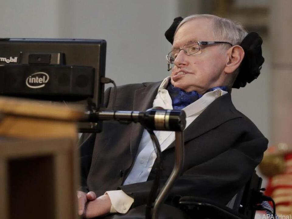 Der britische Physiker Stephen Hawking