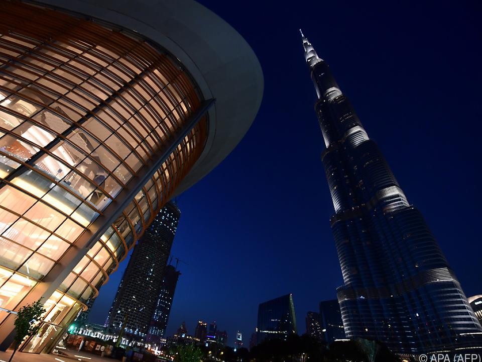 Der Burj Khalifa ist das höchste Gebäude der Welt