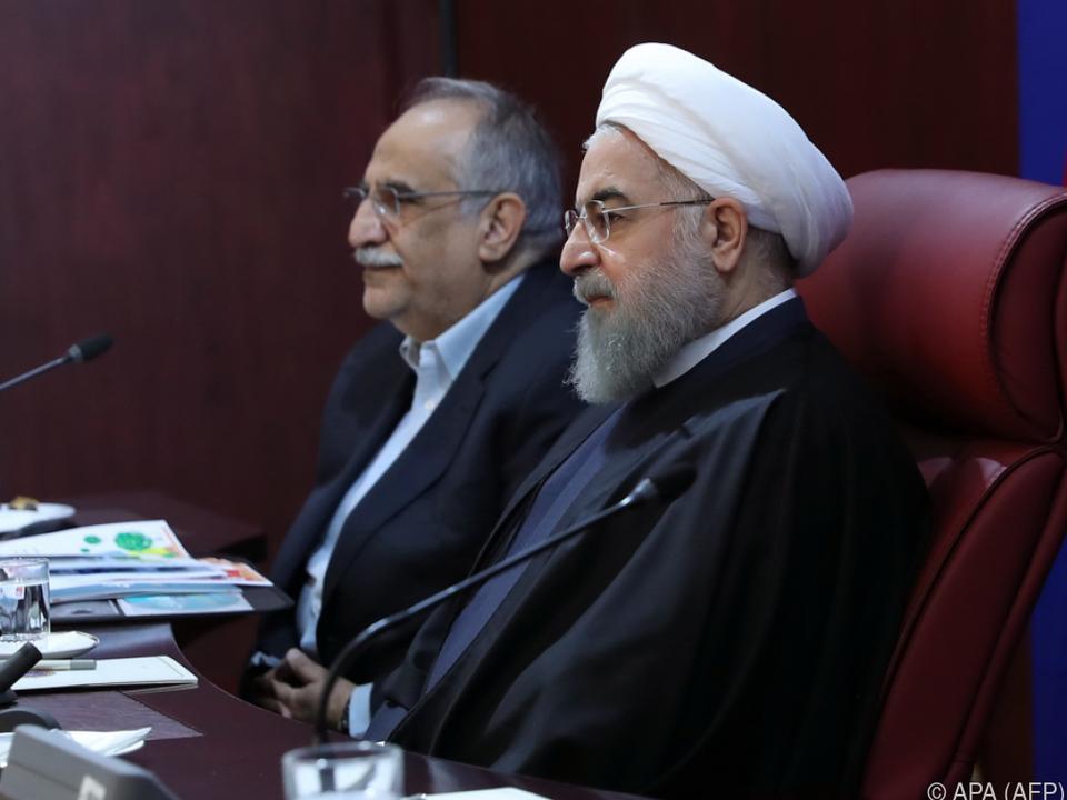 Der Iran werde schnell reagieren, ließ Präsident Rouhani ausrichten