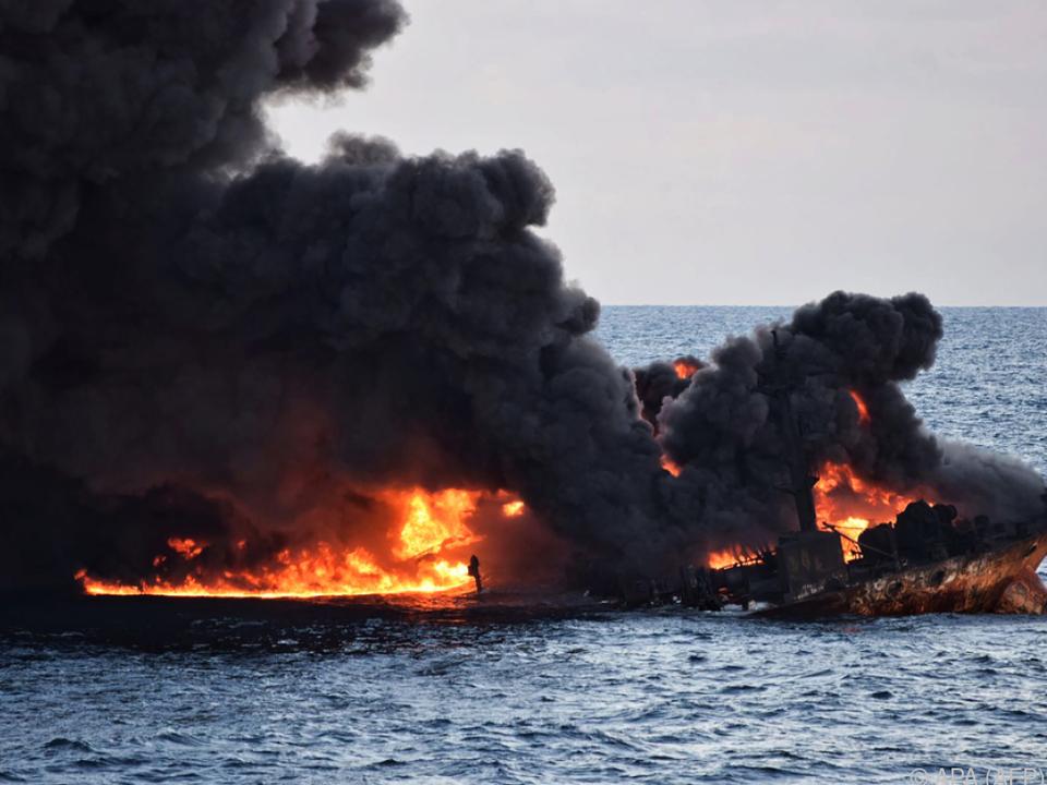 Der iranische Tanker hatte 136.000 Tonnen Ölkondensat geladen