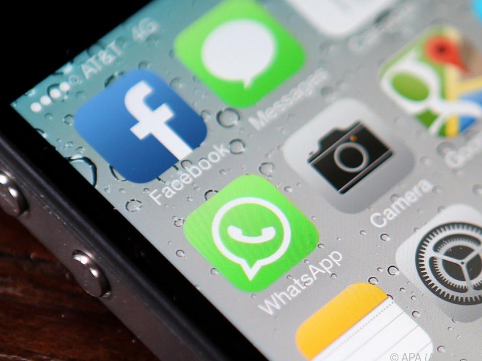 Der Link verbreitet sich über soziale Nachrichten und per SMS