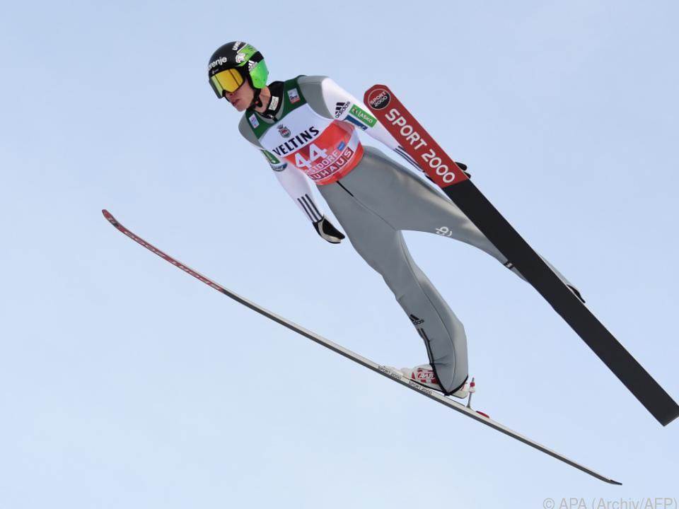 Der Slowene gewann zum ersten Mal im Weltcup