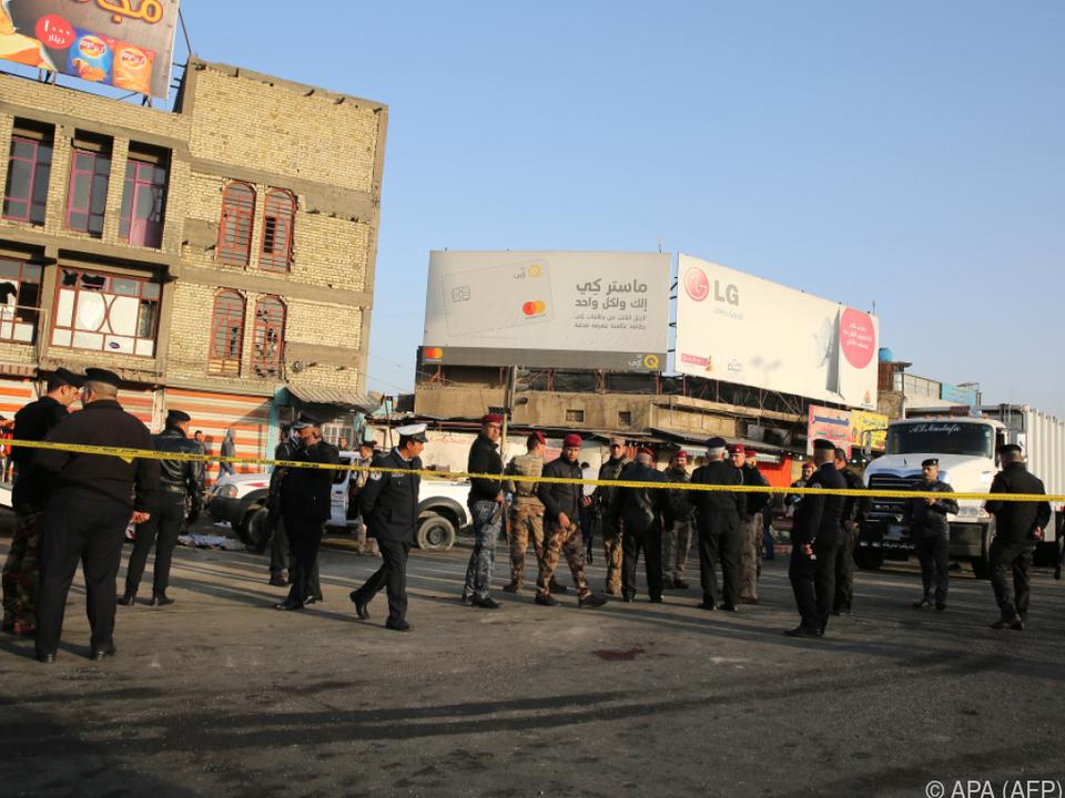Die Anschläge ereigneten sich im Stadtzentrum