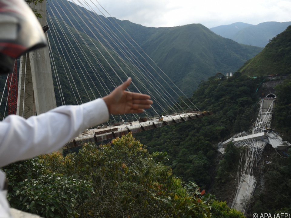 Die Brücke sollte im März eröffnet werden