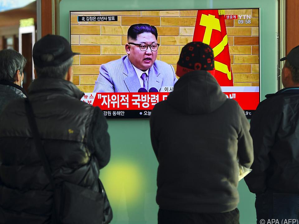 Erstmals seit Jahren: Nordkorea sagt Treffen mit Südkorea zu