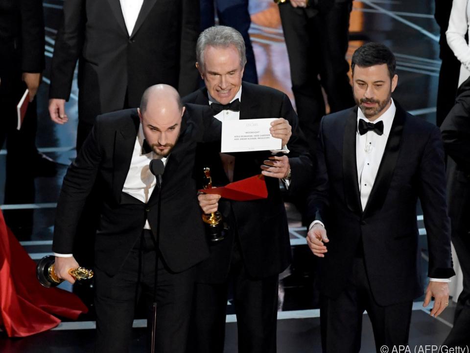 Die Oscar-Show 2017 endete im Chaos
