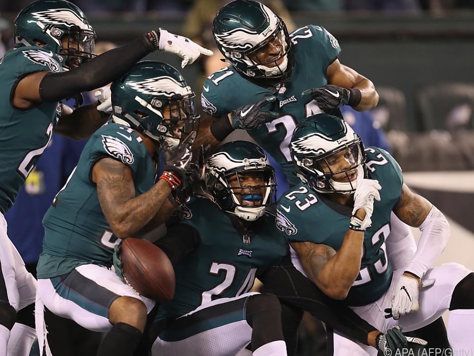 Die Philadelphia Eagles schlugen die Minnesota Vikings 38:7