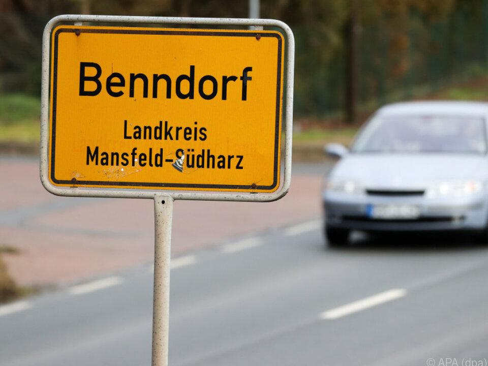 Die Säuglinge wurden in Benndorf in Sachsen-Anhalt gefunden