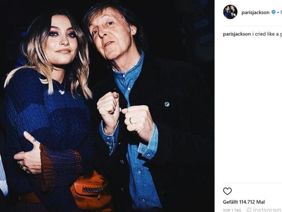 Die Tochter von Michael Jackson postete ein \