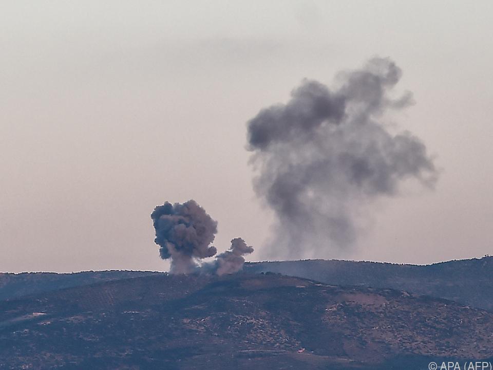 Die türkischen Streitkräfte bestätigten Luftangriffe
