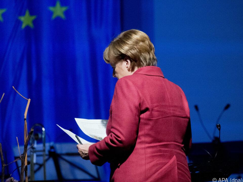 Die Verhandlungen sollen laut Merkel rasch zu einem Erfolg führen