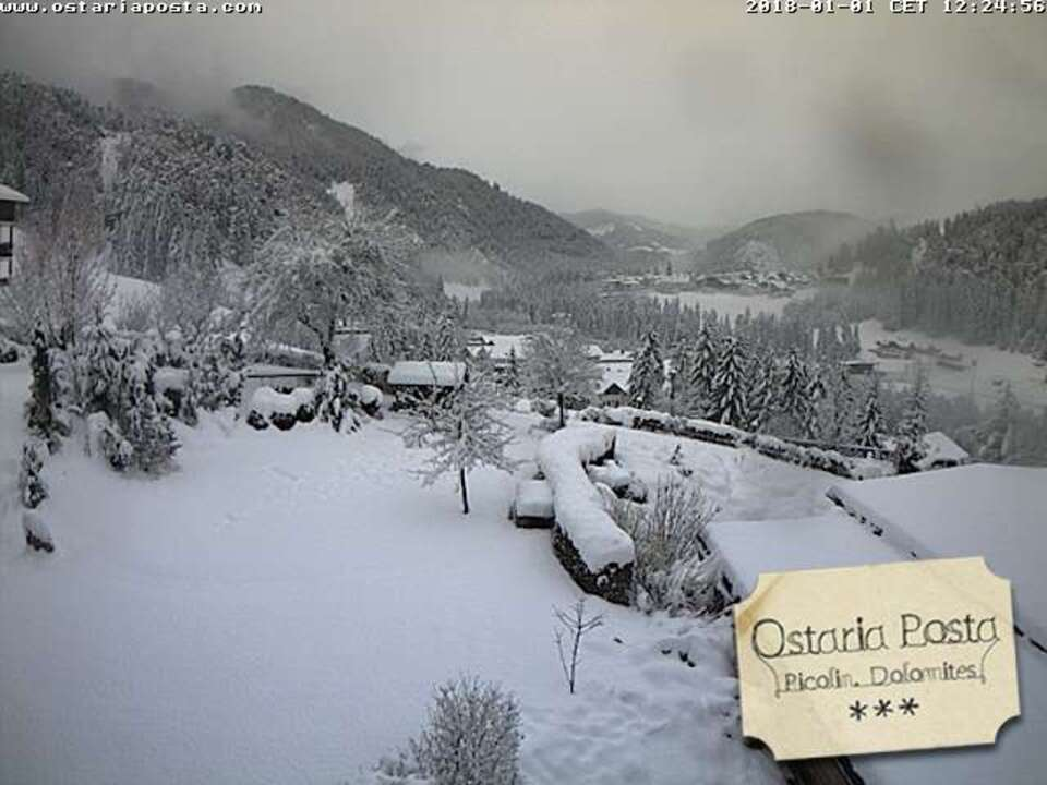 Webcam/Ostaria Posta Picolin Dolomites